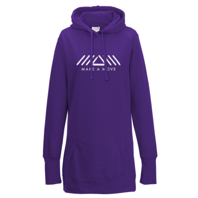 Motiv: Lady Longline Hoodie - Make A Move - Logo (big)