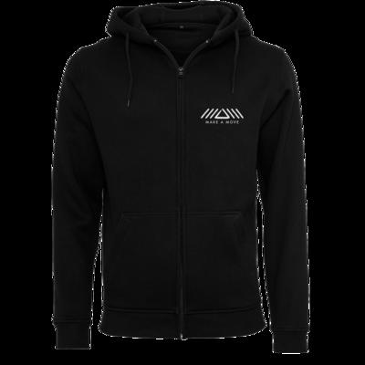 Motiv: Heavy Zip-Hoodie - Make A Move - Logo (big)