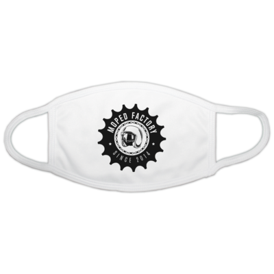 Motiv: Gesichtsmaske - Logo Moped Factory