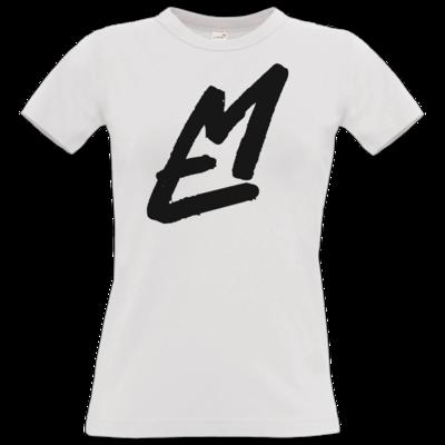 Motiv: T-Shirt Damen Premium FAIR WEAR - EM-Logo-Standard