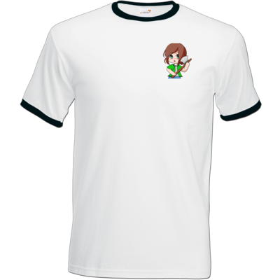 Motiv: T-Shirt Ringer - Timberianerin - by Wariona