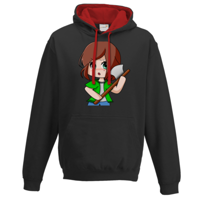 Motiv: Two-Tone Hoodie - Timberianerin - by Wariona