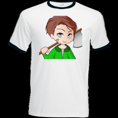 Motiv: T-Shirt Ringer - Timberianer - by Wariona