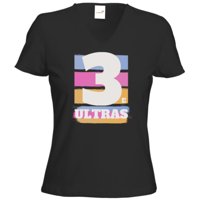 Motiv: T-Shirt Damen V-Neck Classic - 3eultras