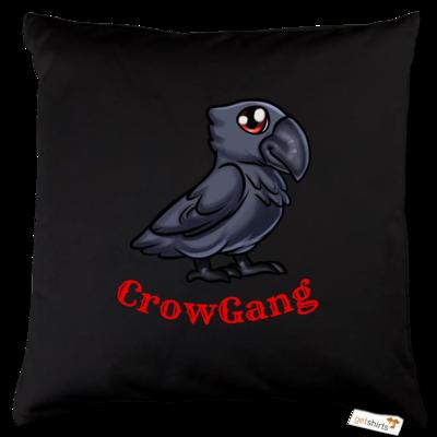 Motiv: Kissen Baumwolle - CrowRabe