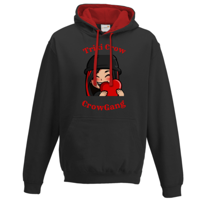 Motiv: Two-Tone Hoodie - Trixi in Love
