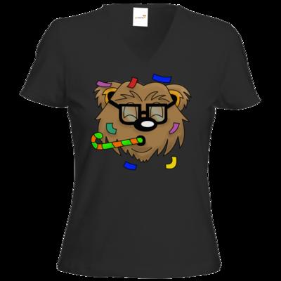 Motiv: T-Shirts Damen V-Neck FAIR WEAR - HYPEBAER