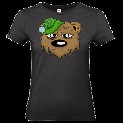 Motiv: T-Shirt Damen Premium FAIR WEAR - Schlafbaer