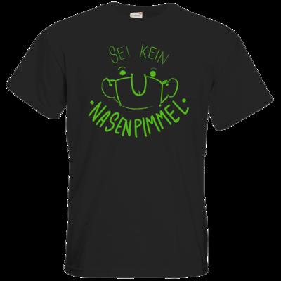 Motiv: T-Shirt Premium FAIR WEAR - Sei Kein Nasenp****l