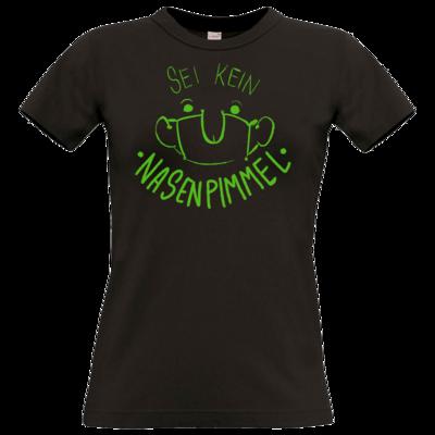 Motiv: T-Shirt Damen Premium FAIR WEAR - Sei Kein Nasenp****l