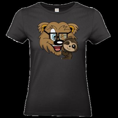 Motiv: T-Shirt Damen Premium FAIR WEAR - BAERMILUHUG
