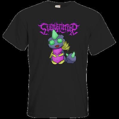 Motiv: T-Shirt Premium FAIR WEAR - Winkender Stahlkriecher