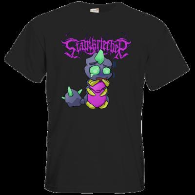 Motiv: T-Shirt Premium FAIR WEAR - Ängstlicher Stahlkriecher