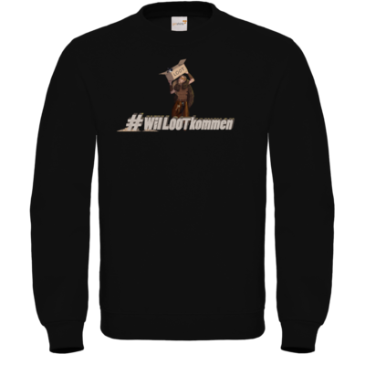 Motiv: Sweatshirt FAIR WEAR - #WilLOOTkommen