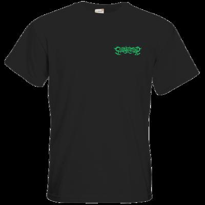 Motiv: T-Shirt Premium FAIR WEAR - Stahlkriecher Schriftzug Grün