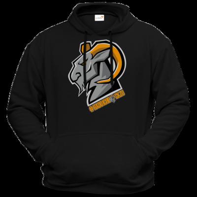 Motiv: Hoodie Premium FAIR WEAR - #Haddichbockzu Big Goat
