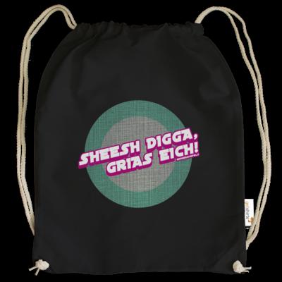 Motiv: Cotton Gymsac - Sheesh Digga, Grias eich!
