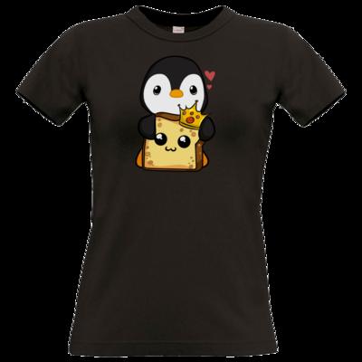 Motiv: T-Shirt Damen Premium FAIR WEAR - PinguToast