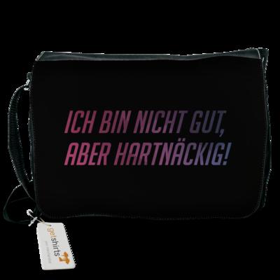 Motiv: Schultertasche - Glu3cifer Credo