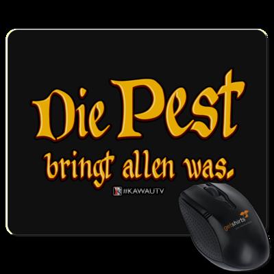 Motiv: Mousepad Textil - Die Pest