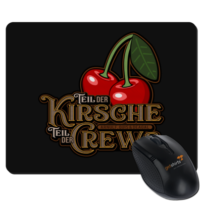 Motiv: Mousepad Textil - Kirsche und Crews