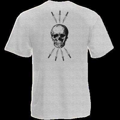 Motiv: T-Shirt Premium FAIR WEAR - Die sieben Tode (beidseitig)