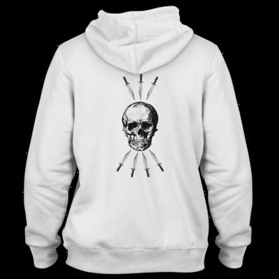 Motiv: Hoodie Premium FAIR WEAR - Die sieben Tode (beidseitig)