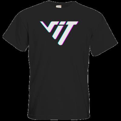 Motiv: T-Shirt Premium FAIR WEAR - Glitch Logo