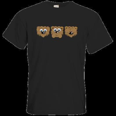 Motiv: T-Shirt Premium FAIR WEAR - nichts sehen, nichts hören, nichts sagen
