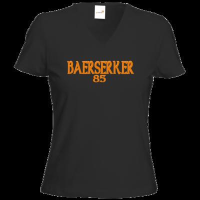 Motiv: T-Shirt Damen V-Neck Classic - Baerserker85