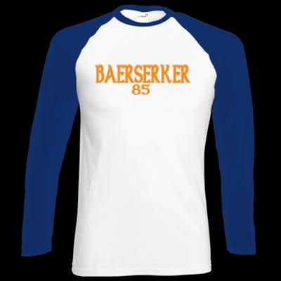 Motiv: Longsleeve Baseball T - Baerserker85