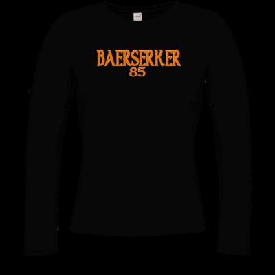 Motiv: Longsleeve Damen Organic - Baerserker85
