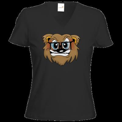 Motiv: T-Shirt Damen V-Neck Classic - Rage