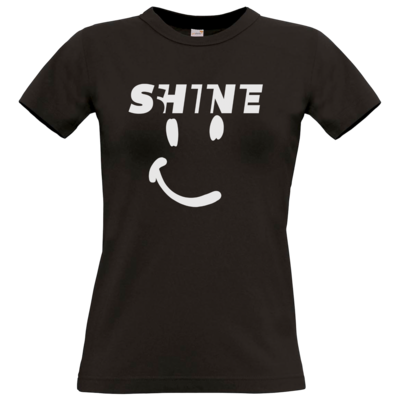 Motiv: T-Shirt Damen Premium FAIR WEAR - Shine smile