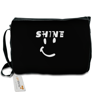 Motiv: Schultertasche - Shine smile