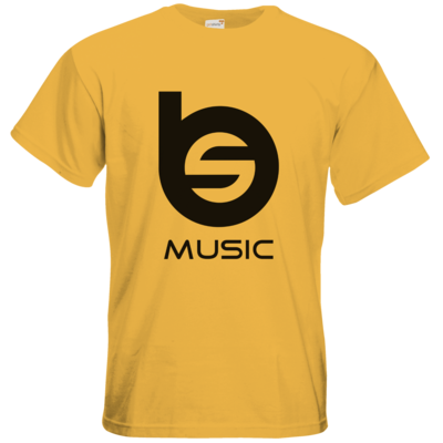 Motiv: T-Shirt Premium FAIR WEAR - BlueEyes & Sushi Logo schwarz