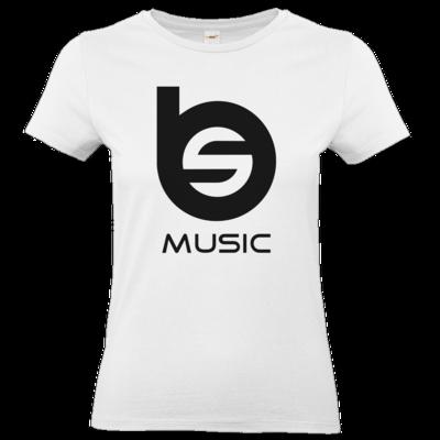 Motiv: T-Shirt Damen Premium FAIR WEAR - BlueEyes & Sushi Logo schwarz
