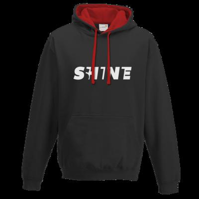 Motiv: Two-Tone Hoodie - Shine classic