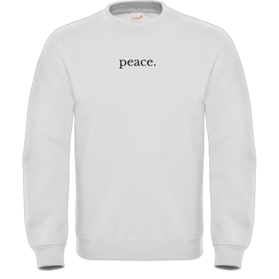 Motiv: Sweatshirt FAIR WEAR - Peace.