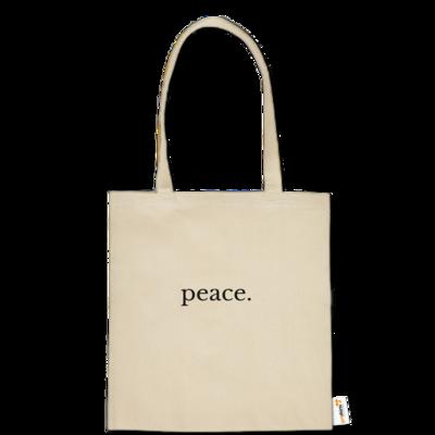 Motiv: Baumwolltasche - Peace.
