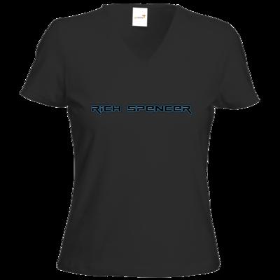 Motiv: T-Shirts Damen V-Neck FAIR WEAR - Rich Spencer