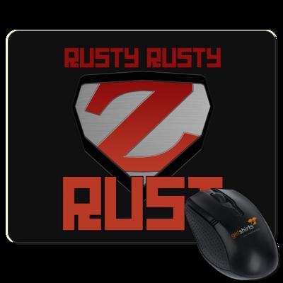 Motiv: Mousepad Textil - Rusty