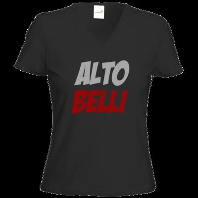 Motiv: T-Shirts Damen V-Neck FAIR WEAR - Alto Belli
