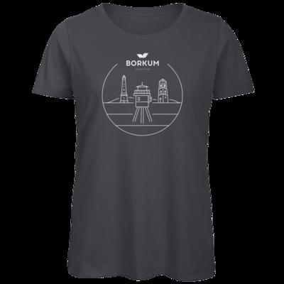 Motiv: Organic Lady T-Shirt - Lighthouse