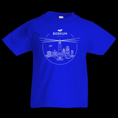 Motiv: Kids T-Shirt Premium FAIR WEAR - Skyline Borkum (rund)