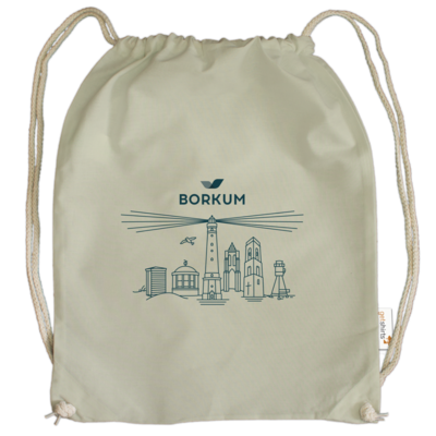 Motiv: Cotton Gymsac - Skyline Borkum