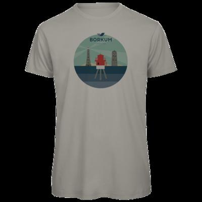 Motiv: Organic T-Shirt - Leuchttürme (mehrfarbig)