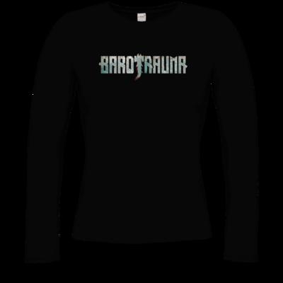 Motiv: Longsleeve Damen Organic - Barotrauma Logo