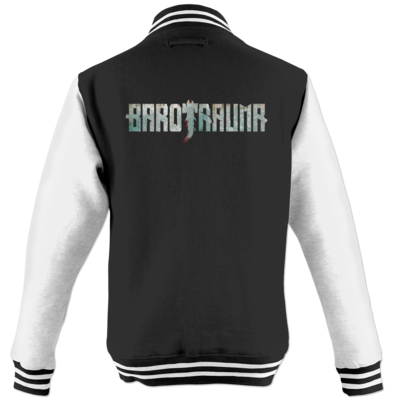 Motiv: College Jacke - Barotrauma Logo