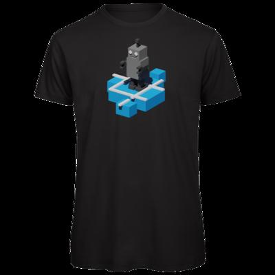 Motiv: Organic T-Shirt - Unrailed Bot
